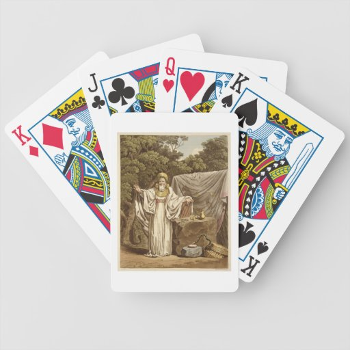 An Arch Druid in his Judicial Habit, engraved by R Card Deck