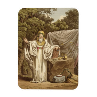 An Arch Druid in his Judicial Habit, engraved by R Rectangular Photo Magnet