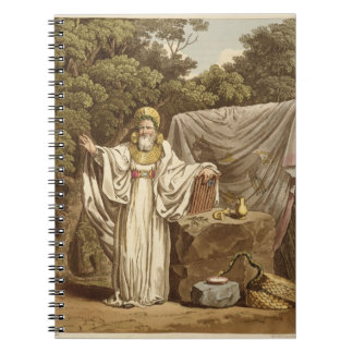 An Arch Druid in his Judicial Habit, engraved by R Spiral Note Book