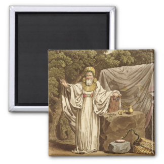 An Arch Druid in his Judicial Habit, engraved by R Square Magnet