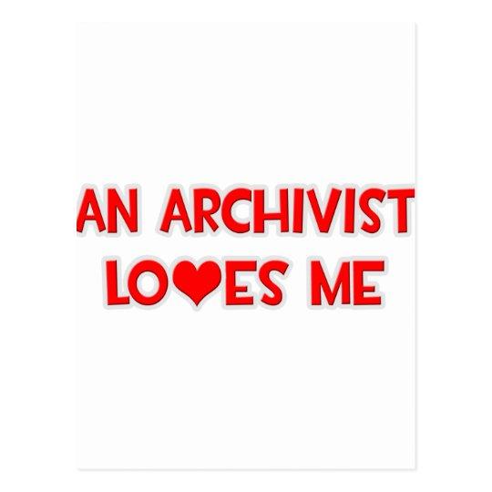An Archivist Loves Me Postcard