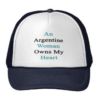 An Argentine Woman Owns My Heart Trucker Hat