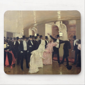 An Argument in the Corridors of the Opera, 1889 Mouse Pad