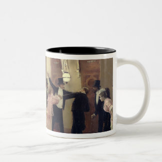 An Argument in the Corridors of the Opera, 1889 Two-Tone Mug