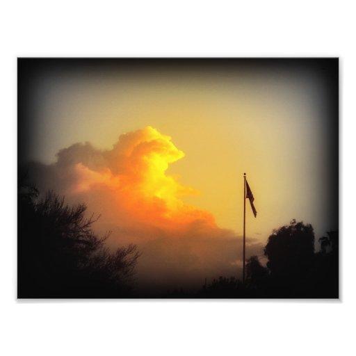An Arizona Sunset Photo Prints (7x5)