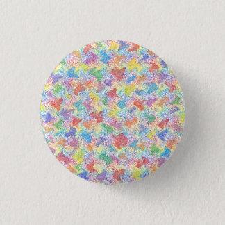 An Artist's Palette 3 Cm Round Badge