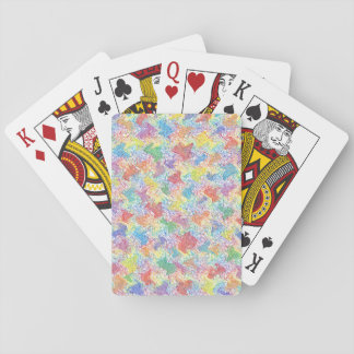 An Artist's Palette Playing Cards