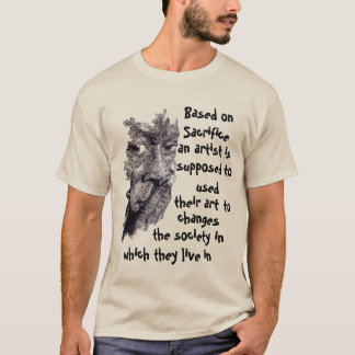 an artist T-Shirt