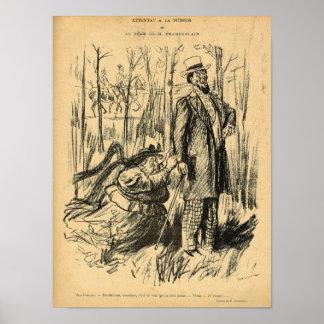 An Assault on Modesty or Mr. Chamberlain's Poster