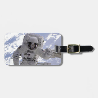 An Astronaught in Space Luggage Tag