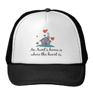 An Aunt's Home is Where the Heart is Hats
