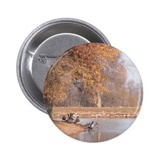 An Autumn Day Pinback Button