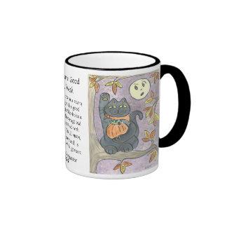 An Autumn Good Luck Wish Mugs