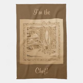 An Autumn Wind Tea Towel