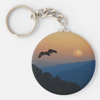 An eagles ascent key ring