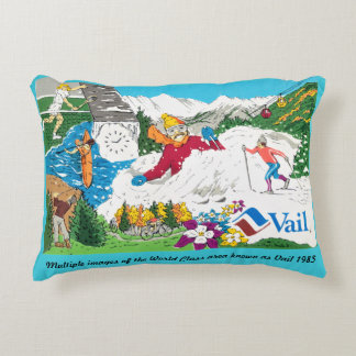 An early local of the Vail Valley created this. Decorative Cushion