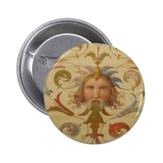 An early Renaissance painting 6 Cm Round Badge
