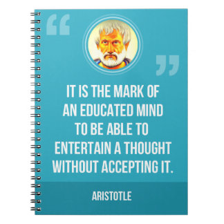 An Educated Mind Quote Note Books