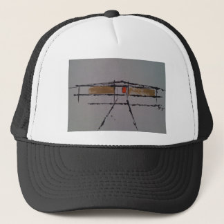 An Eichler home on a T-shirt #2 Trucker Hat