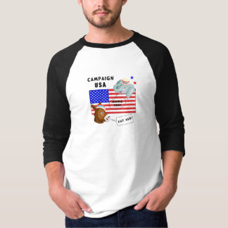 An Election Day Campaign USA Tshirts