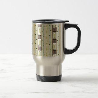 An elegant ,beautiful design stainless steel travel mug