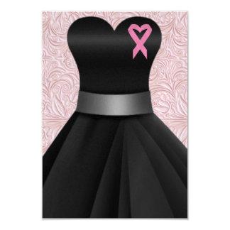 An Elegant Pink Ribbon Occasion  - SRF 9 Cm X 13 Cm Invitation Card