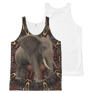 An Elephant's Wisdom. All-Over Print Tank Top