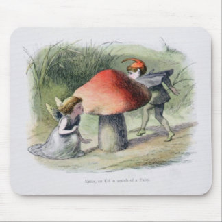 An Elf in Search of a Fairy, illustration from 'In Mouse Pad