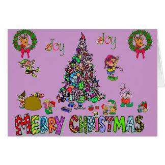 an elven christmas card