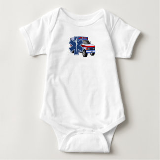 An EMS Ambulance Baby Bodysuit