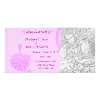 An Engagement Party For ____ Customized Photo Card
