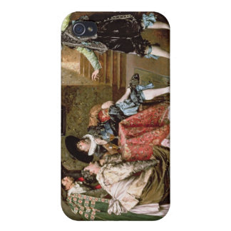 An Engaging Tale, 1894 (oil on panel) iPhone 4/4S Case