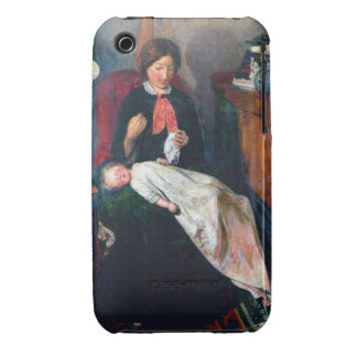 An English Fireside of 1854-5 iPhone 3 Covers