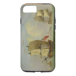 An English Sloop and a Frigate in a Light Breeze ( iPhone 7 Case
