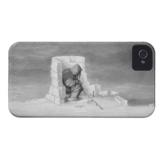 An Eskimaux watching a Seal-Hole, from 'Journal of Case-Mate iPhone 4 Cases