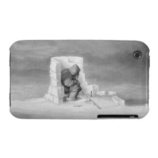 An Eskimaux watching a Seal-Hole, from 'Journal of Case-Mate iPhone 3 Case