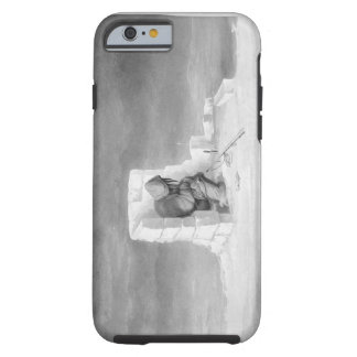 An Eskimaux watching a Seal-Hole, from 'Journal of Tough iPhone 6 Case