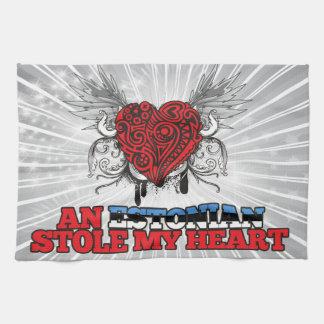 An Estonian Stole my Heart Towel