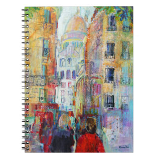 An Evening Walk to Sacre Coeur Notebook