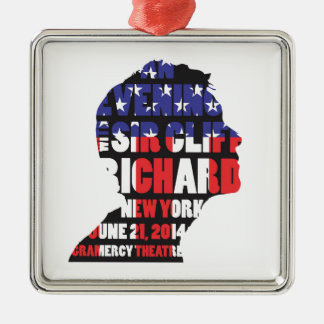 An Evening with Sir Cliff Richard Metal Ornament