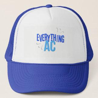 An Everything AC Trucker Hat Royal Blue