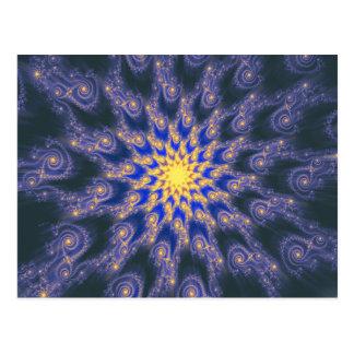 An Expanding Universe Postcard