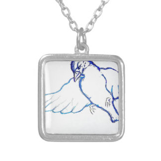 An Expression of Flight Silver Plated Necklace