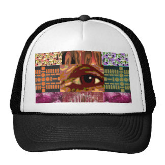 AN EYE for Art : Elegant Miniature Art Collage Hats