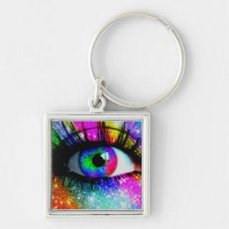 An Eye For Art Keychain