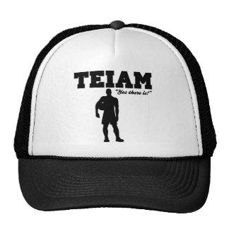 An I in Team Cap
