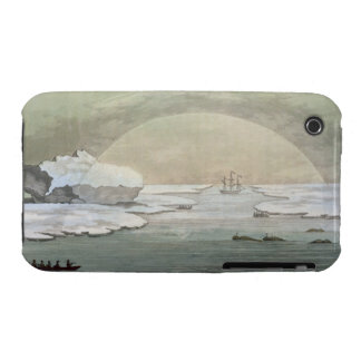 An iced-in British whaleboat is liberated by the s iPhone 3 Case-Mate Cases