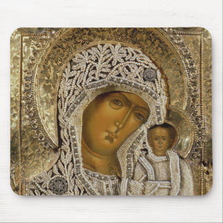 An icon showing the Virgin of Kazan Mouse Pad