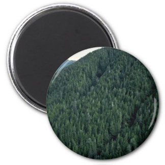 An Ideal Untouched Mountain Refrigerator Magnet