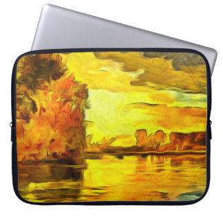 An image of autumn laptop sleeve